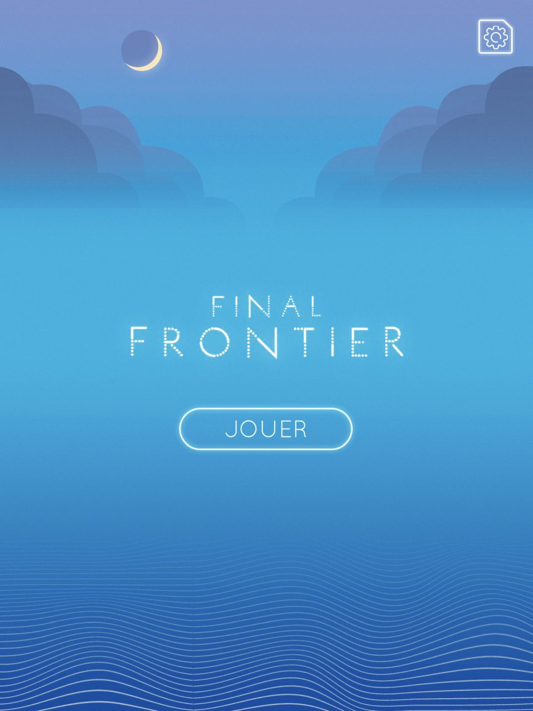 Final Frontier: A New Journey (copie d'écran 1 sur iPhone / iPad)
