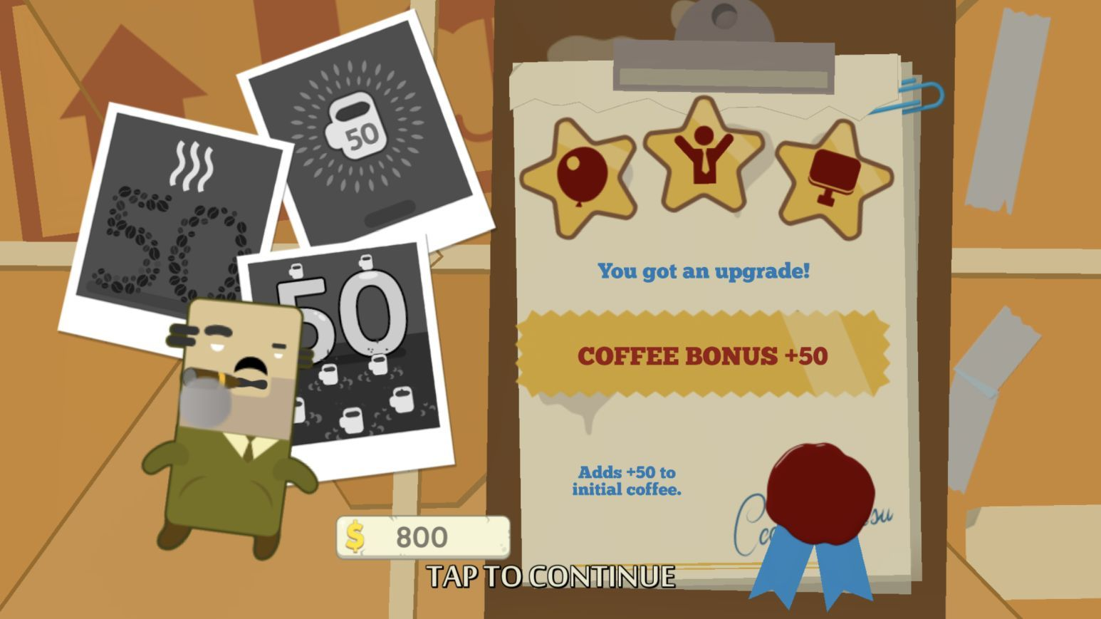 Hipster Attack (copie d'écran 16 sur iPhone / iPad)