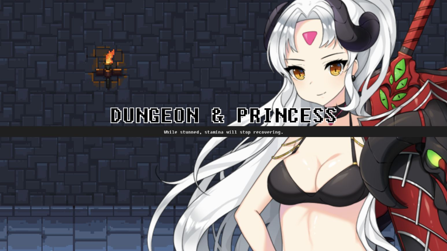 Dungeon Princess (copie d'écran 1 sur iPhone / iPad)