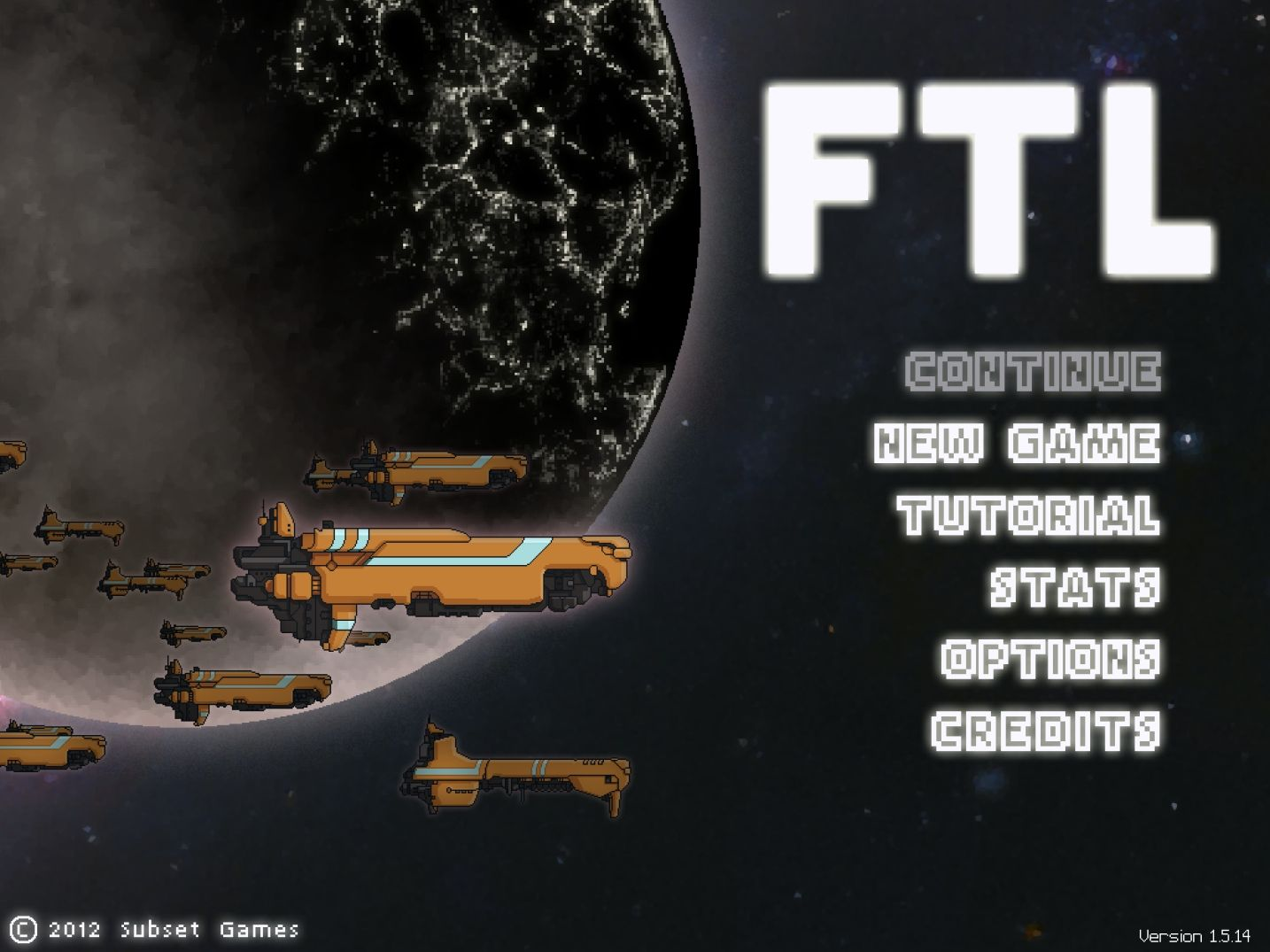 FTL: Faster Than Light (copie d'écran 1 sur iPad)