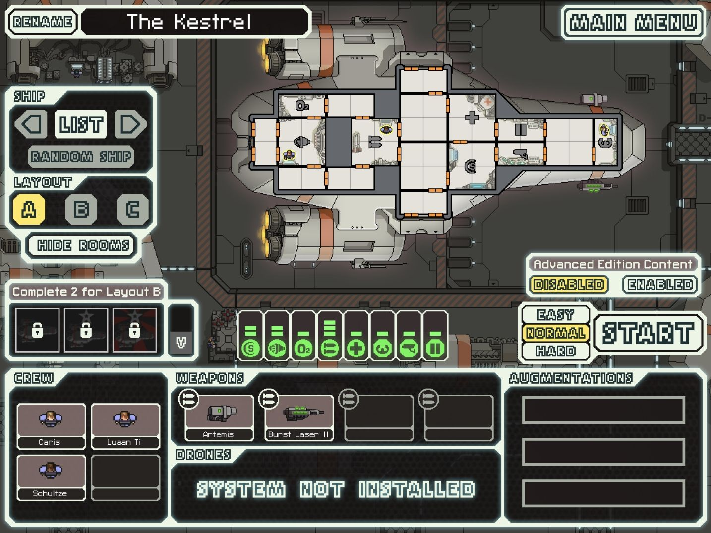 FTL: Faster Than Light (copie d'écran 2 sur iPad)