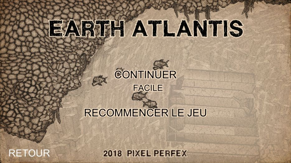 Earth Atlantis (copie d'écran 1 sur iPhone / iPad)