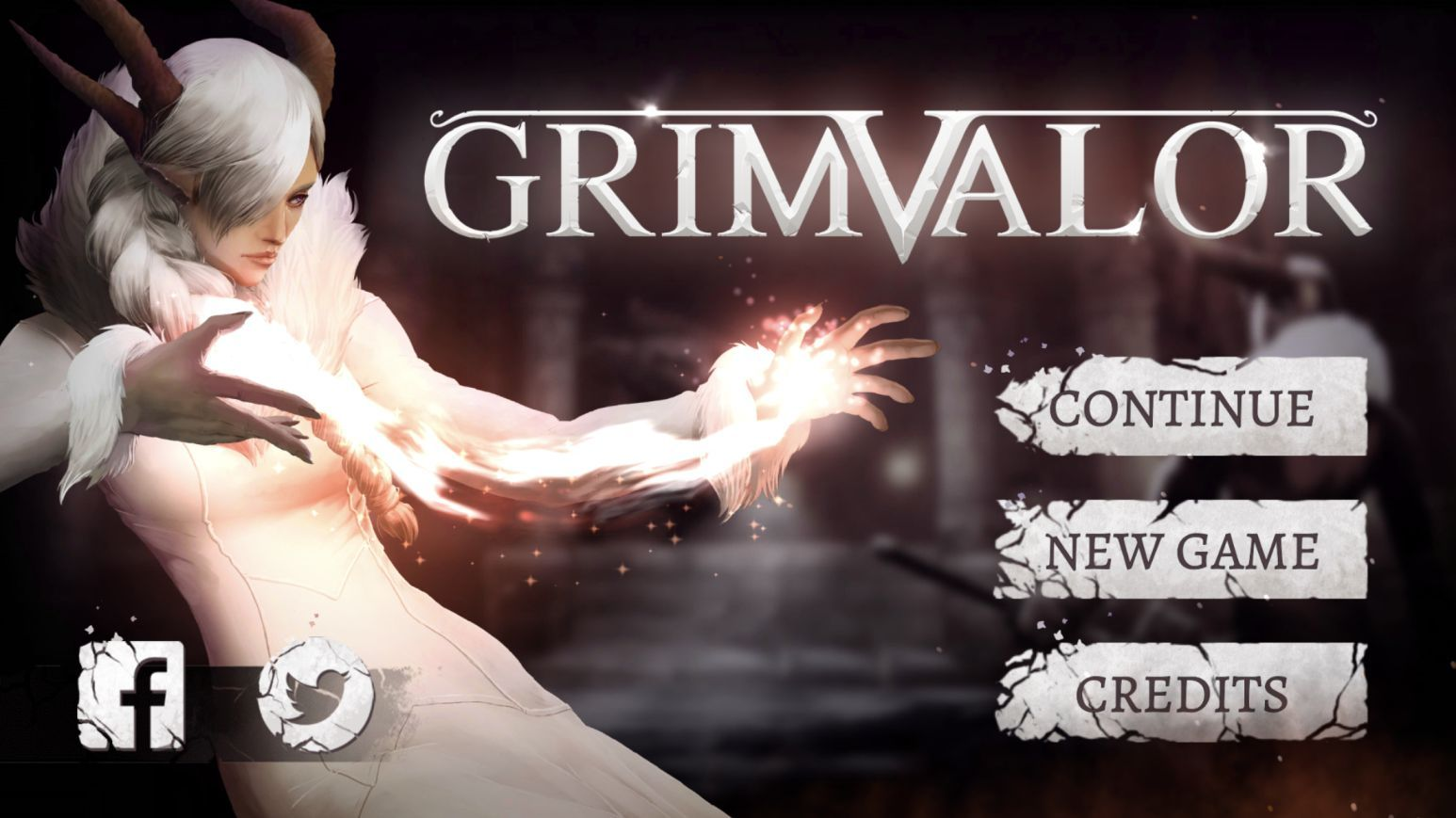 Grimvalor (copie d'écran 1 sur iPhone / iPad)