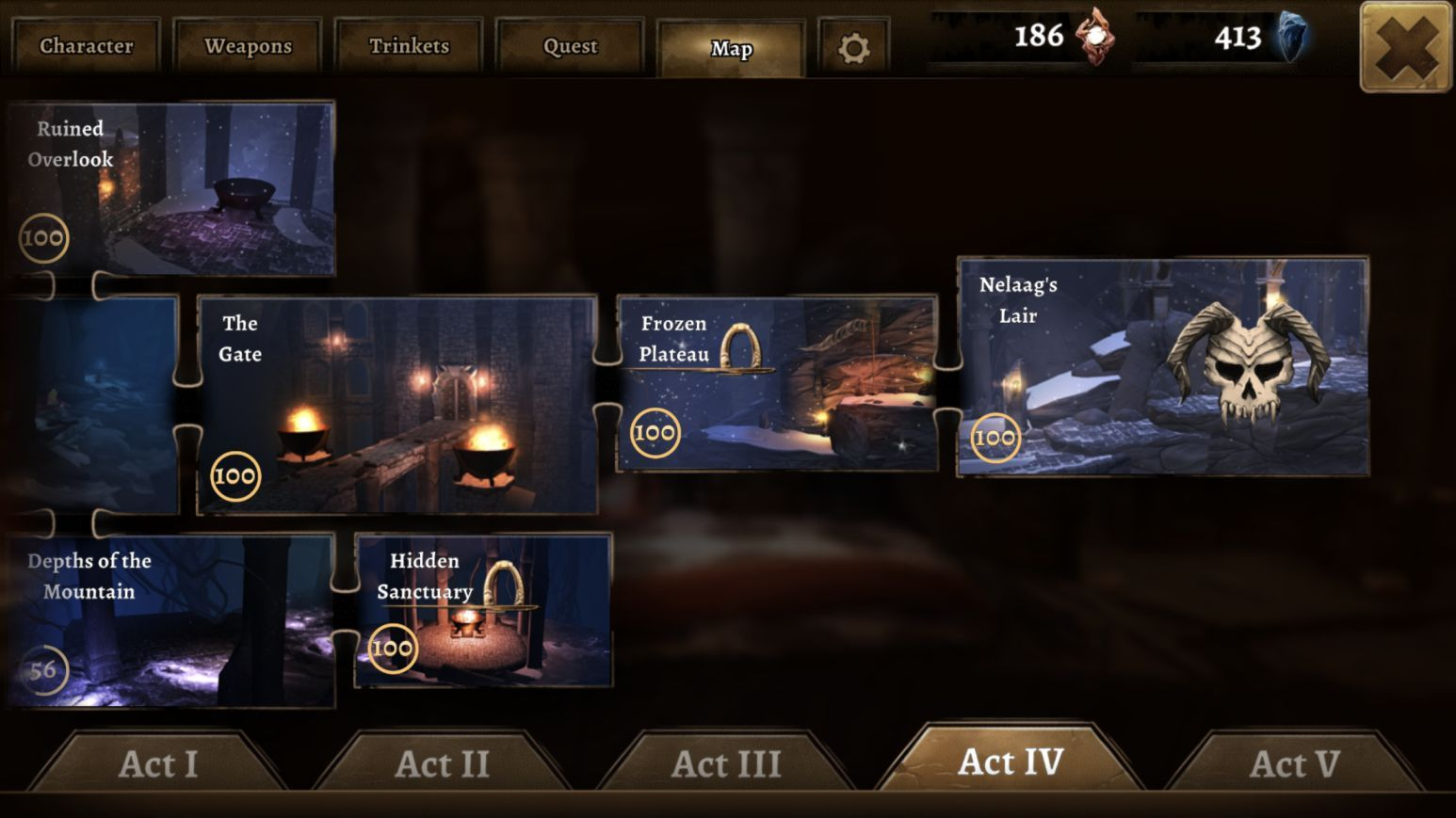 Grimvalor (copie d'écran 29 sur iPhone / iPad)
