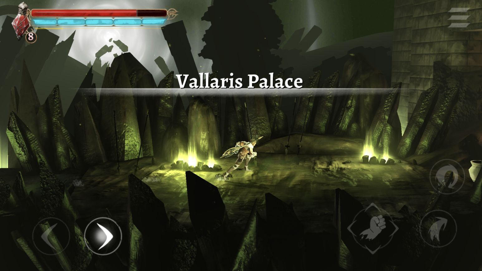 Grimvalor (copie d'écran 36 sur iPhone / iPad)