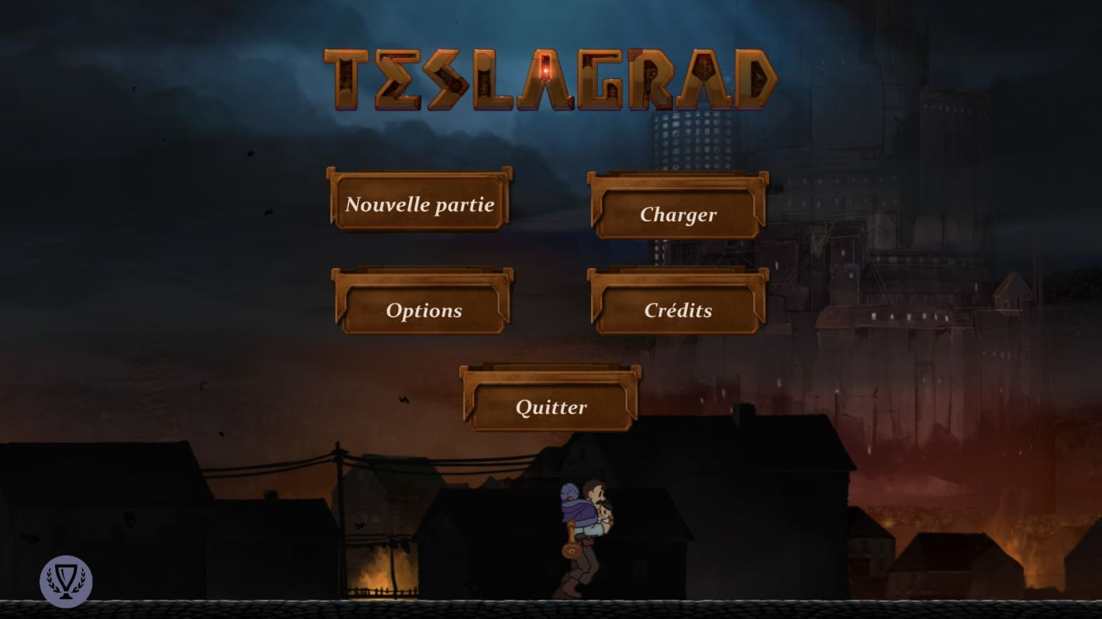 Teslagrad (copie d'écran 1 sur iPhone / iPad)