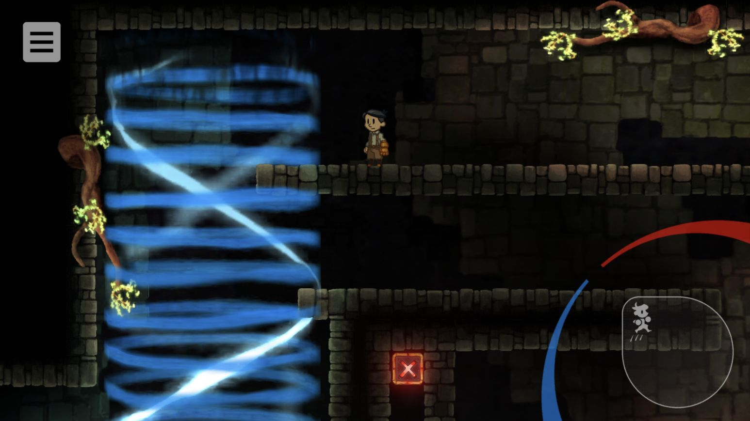 Teslagrad (copie d'écran 3 sur iPhone / iPad)