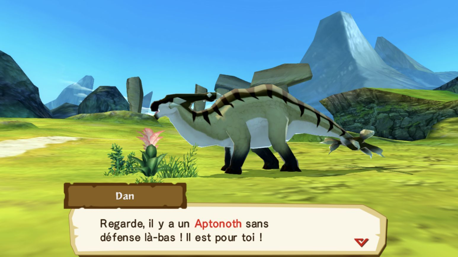 Monster Hunter Stories (copie d'écran 4 sur iPhone / iPad)
