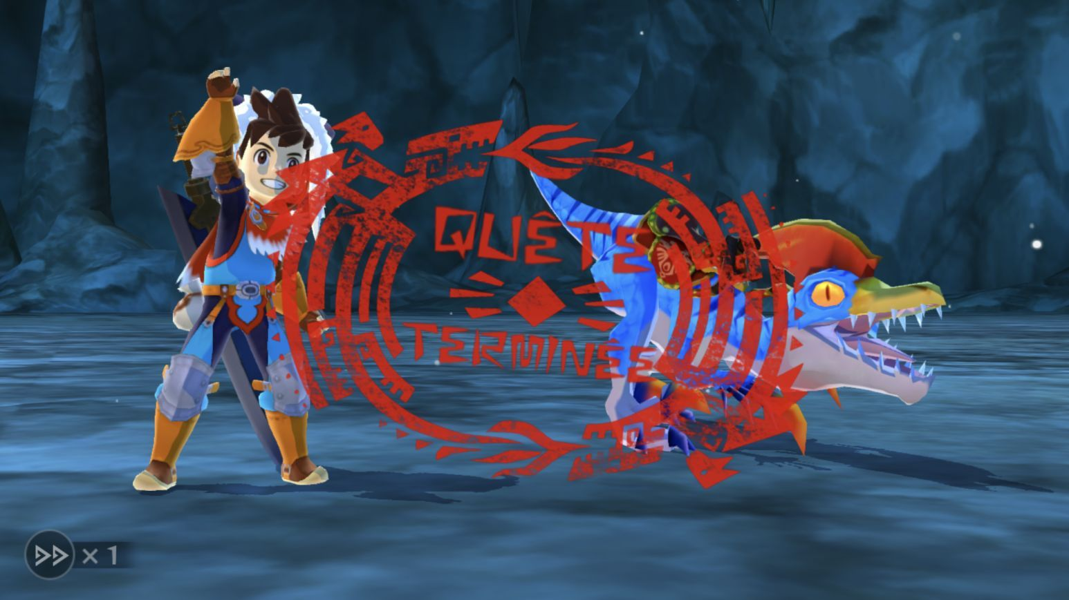 Monster Hunter Stories (copie d'écran 20 sur Android)