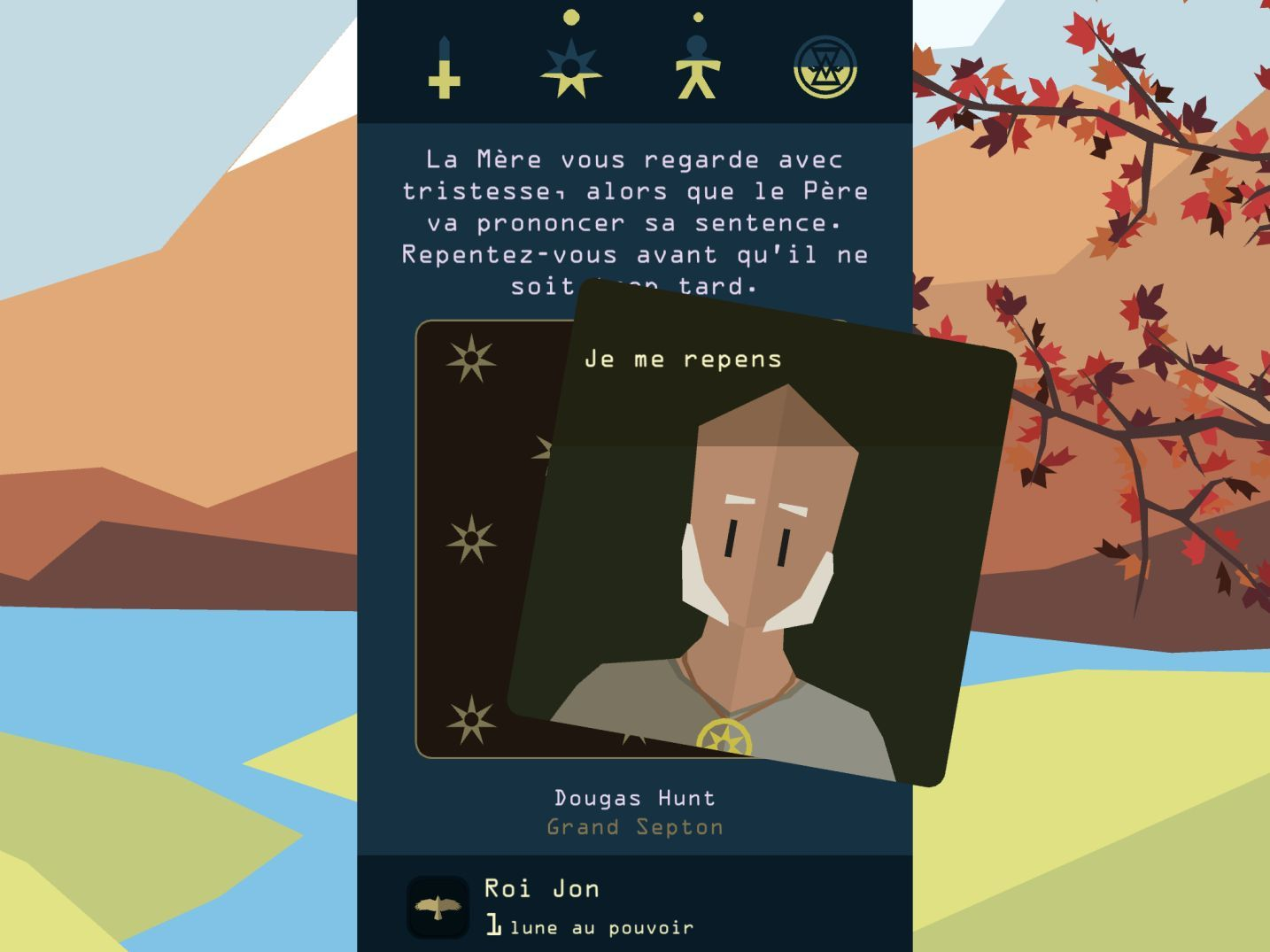 Reigns: Game of Thrones (copie d'écran 3 sur iPhone / iPad)