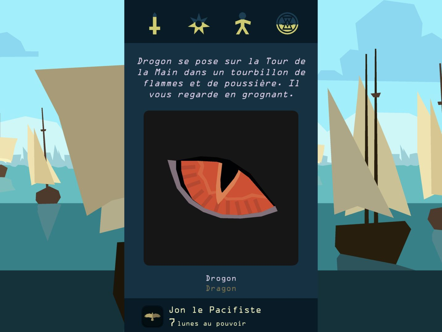 Reigns: Game of Thrones (copie d'écran 5 sur iPhone / iPad)