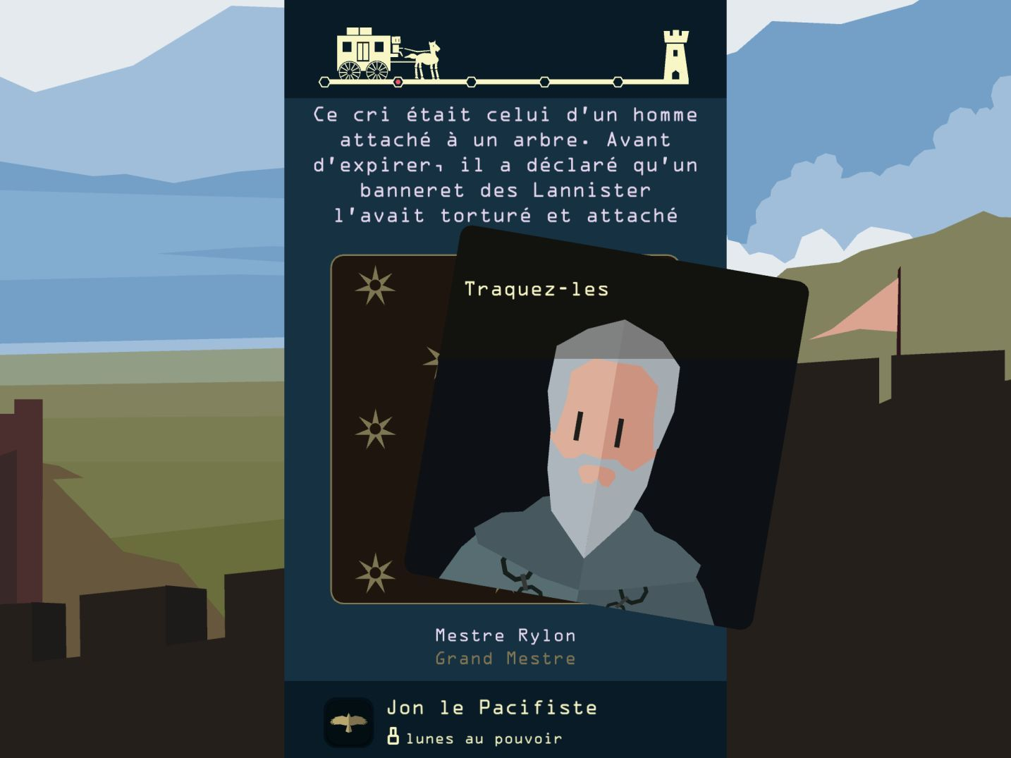 Reigns: Game of Thrones (copie d'écran 6 sur iPhone / iPad)