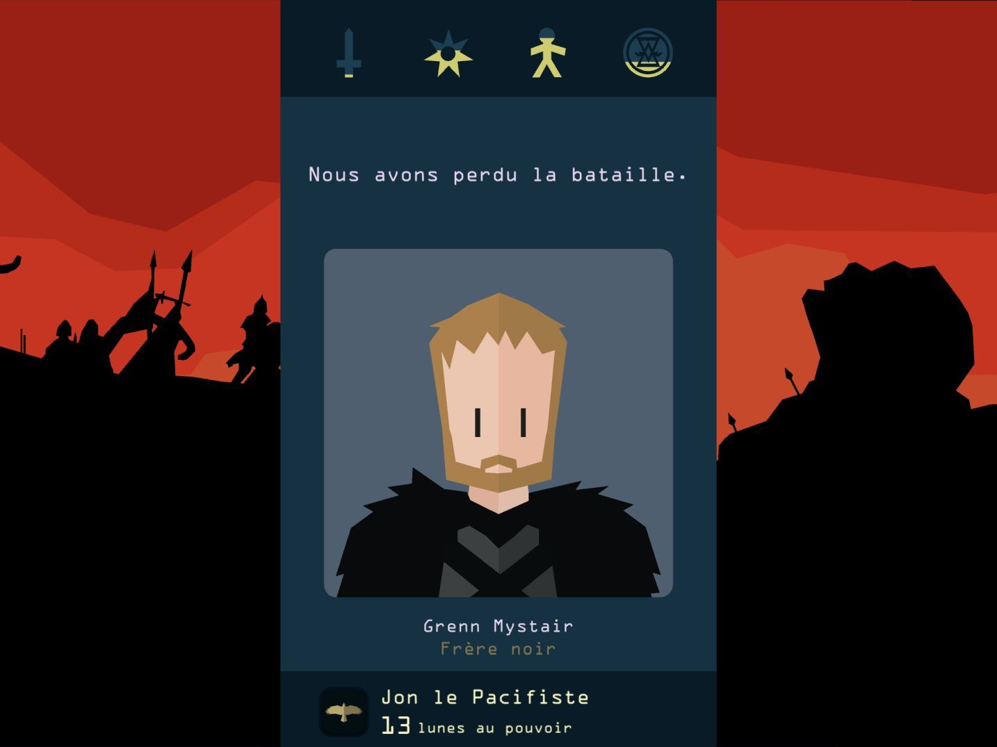 Reigns: Game of Thrones (copie d'écran 7 sur iPhone / iPad)