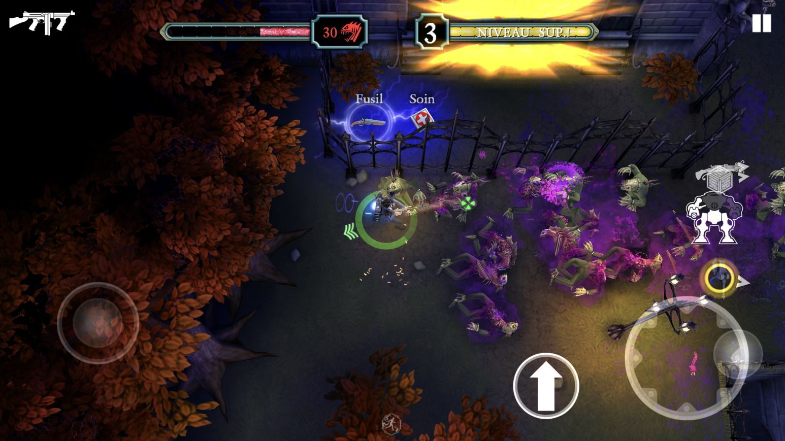 Tesla vs Lovecraft (copie d'écran 4 sur iPhone / iPad)