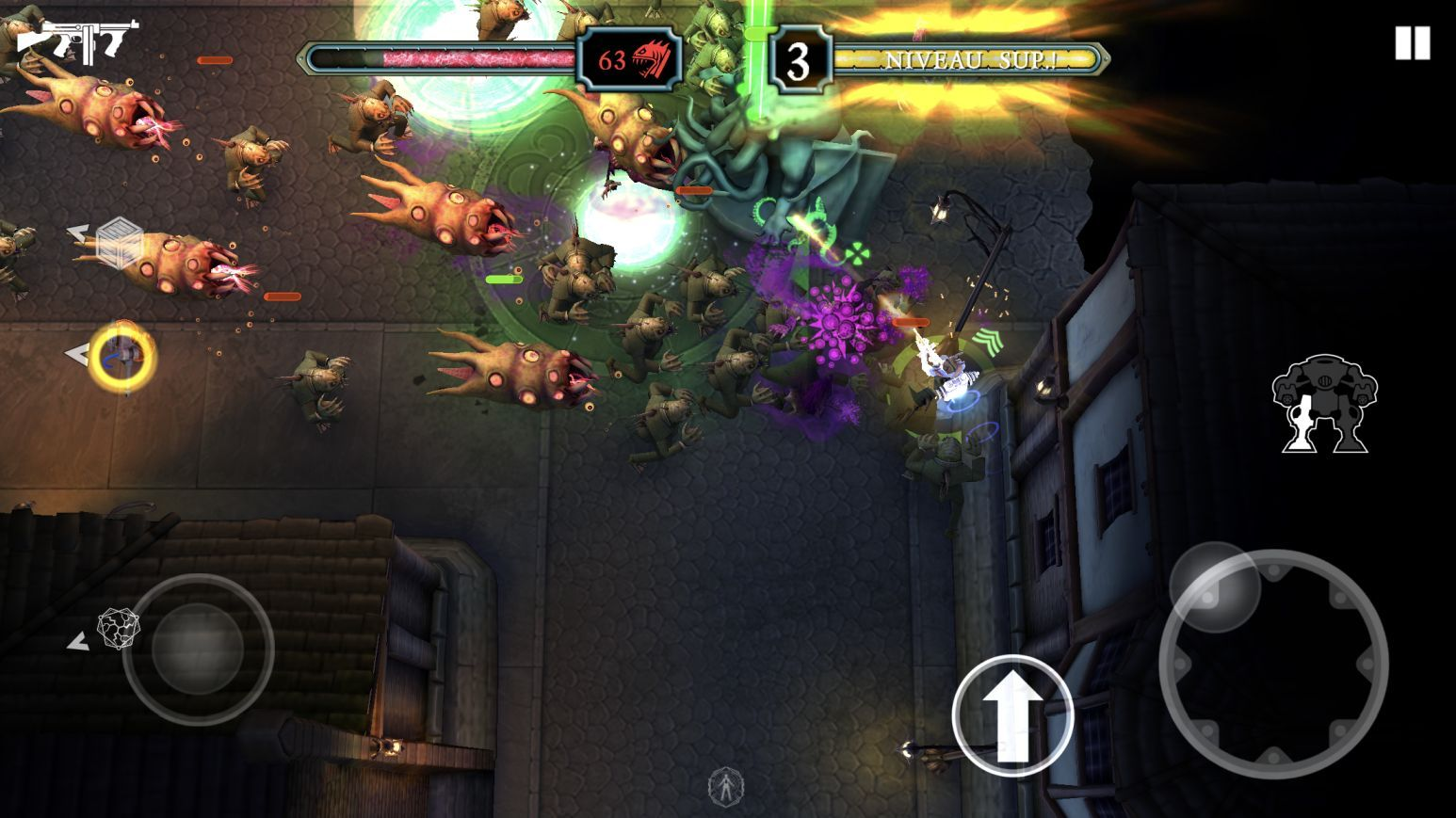 Tesla vs Lovecraft (copie d'écran 12 sur iPhone / iPad)
