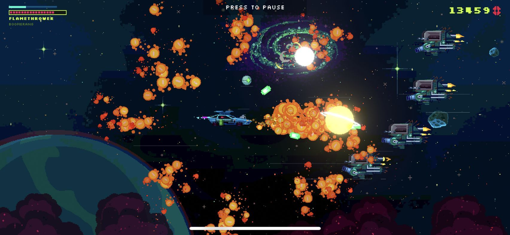Black Paradox (copie d'écran 8 sur iPhone / iPad)