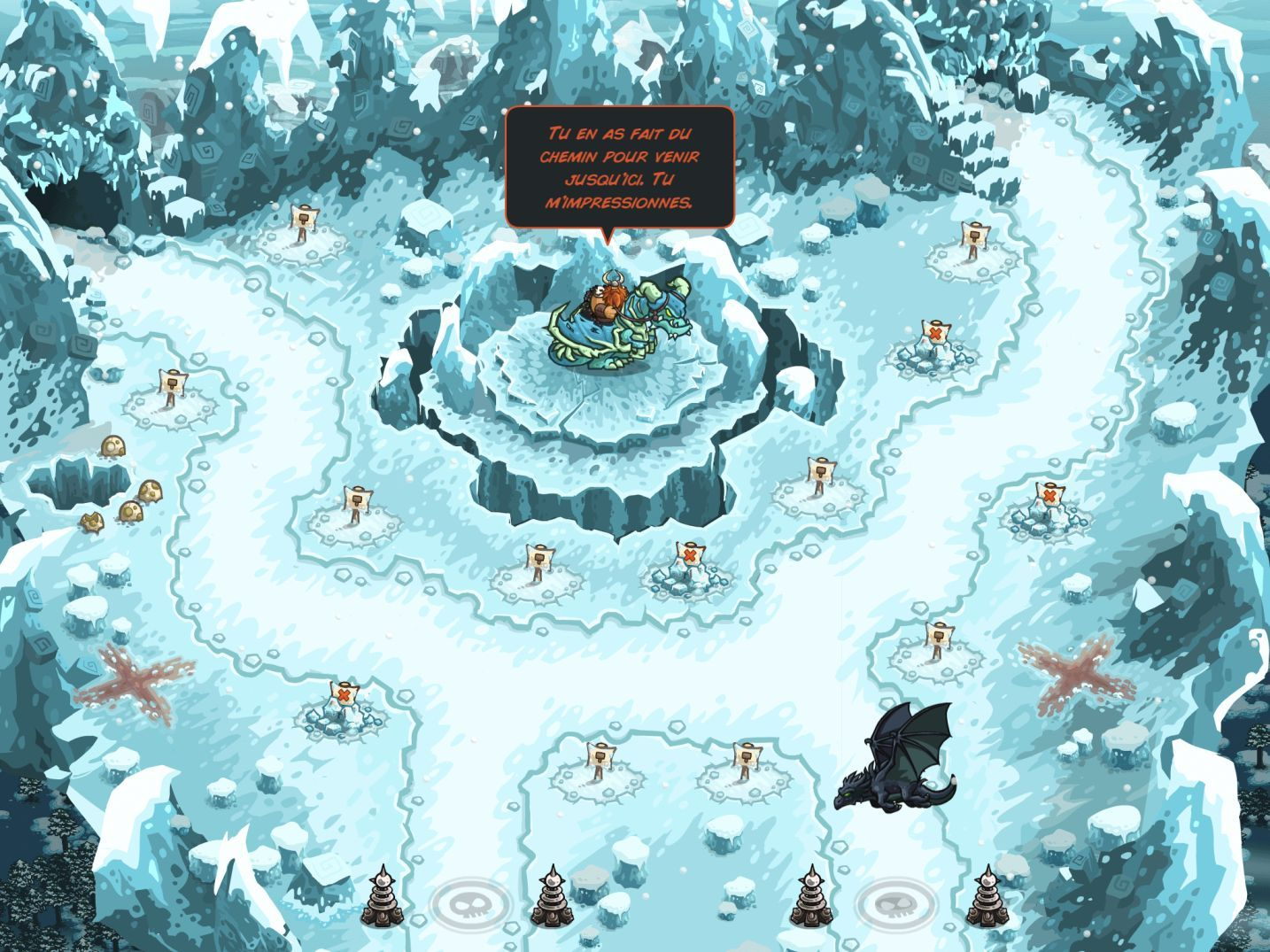 Kingdom Rush Vengeance (copie d'écran 13 sur iPhone / iPad)