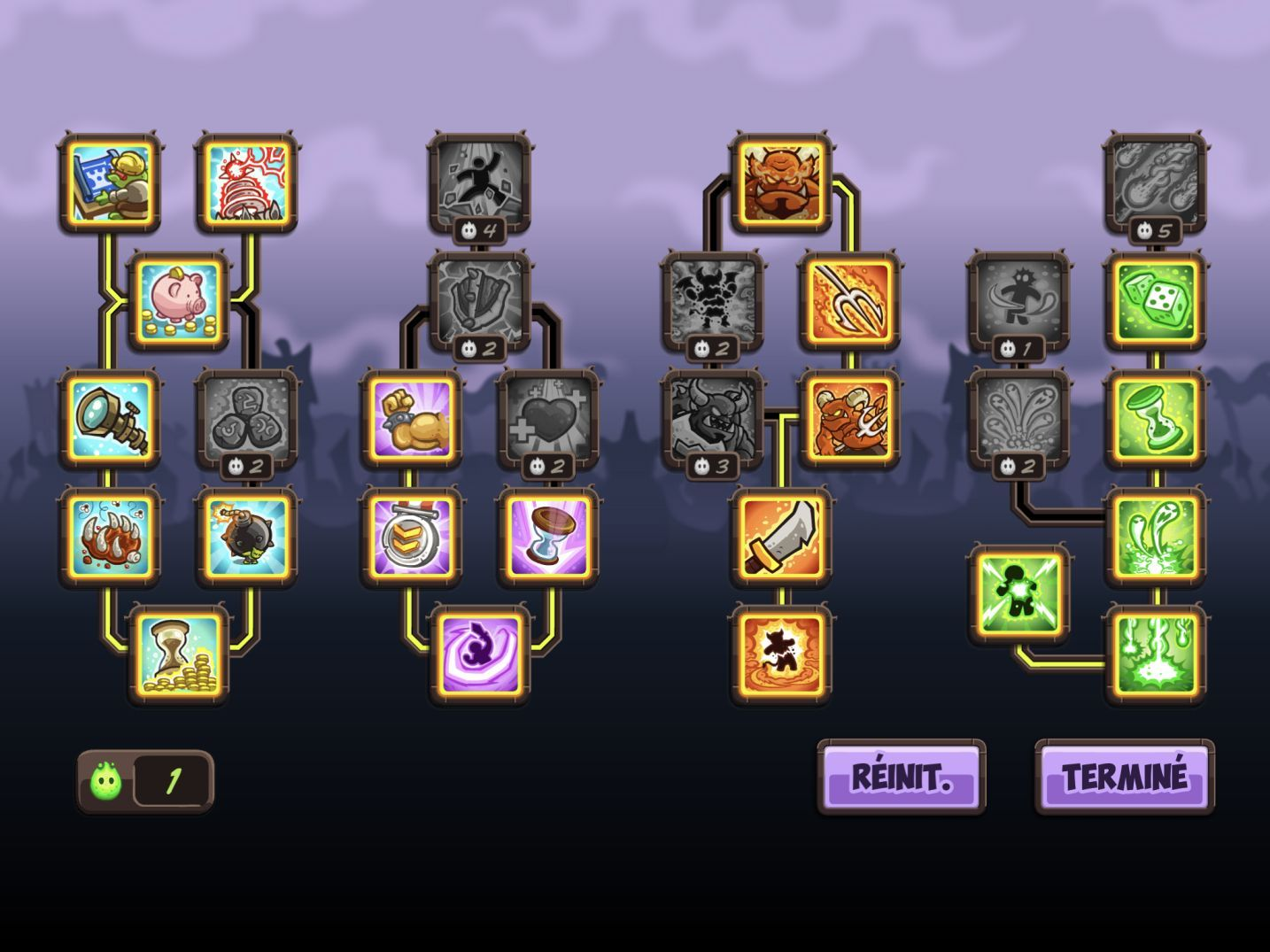 Kingdom Rush Vengeance (copie d'écran 18 sur iPhone / iPad)