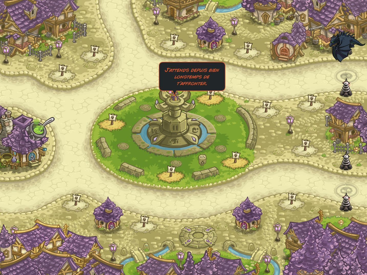 Kingdom Rush Vengeance (copie d'écran 20 sur iPhone / iPad)