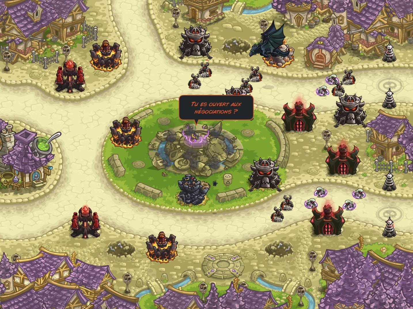 Kingdom Rush Vengeance (copie d'écran 22 sur iPhone / iPad)