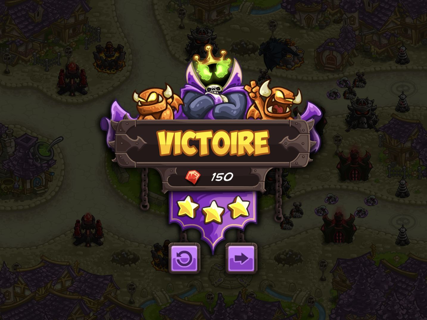 Kingdom Rush Vengeance (copie d'écran 23 sur iPhone / iPad)