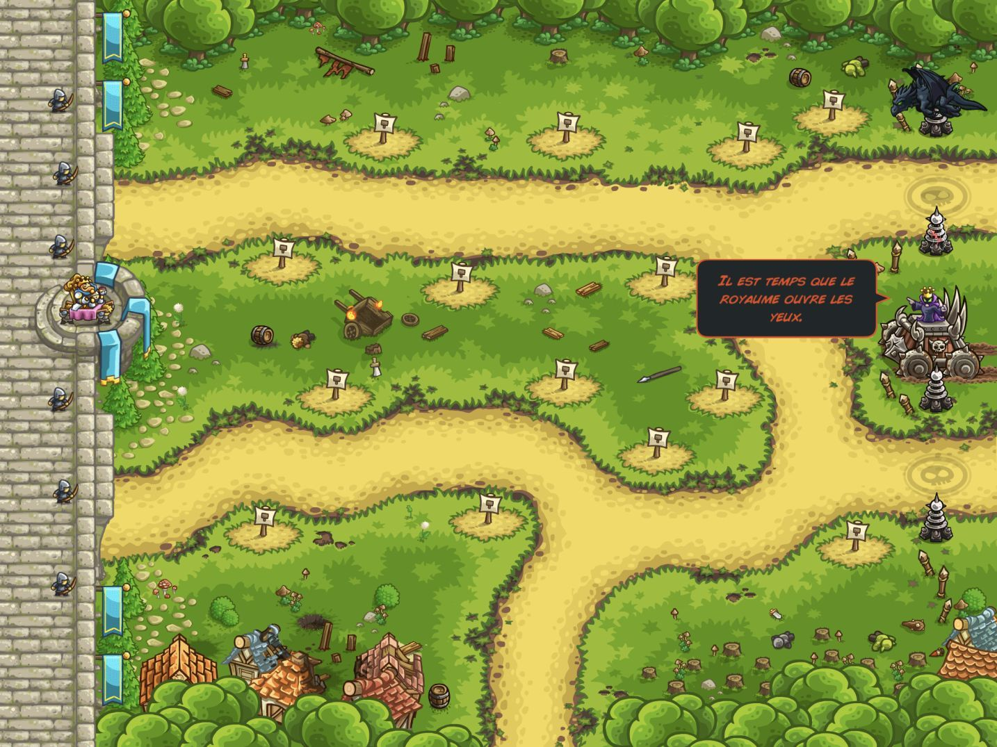 Kingdom Rush Vengeance (copie d'écran 26 sur iPhone / iPad)