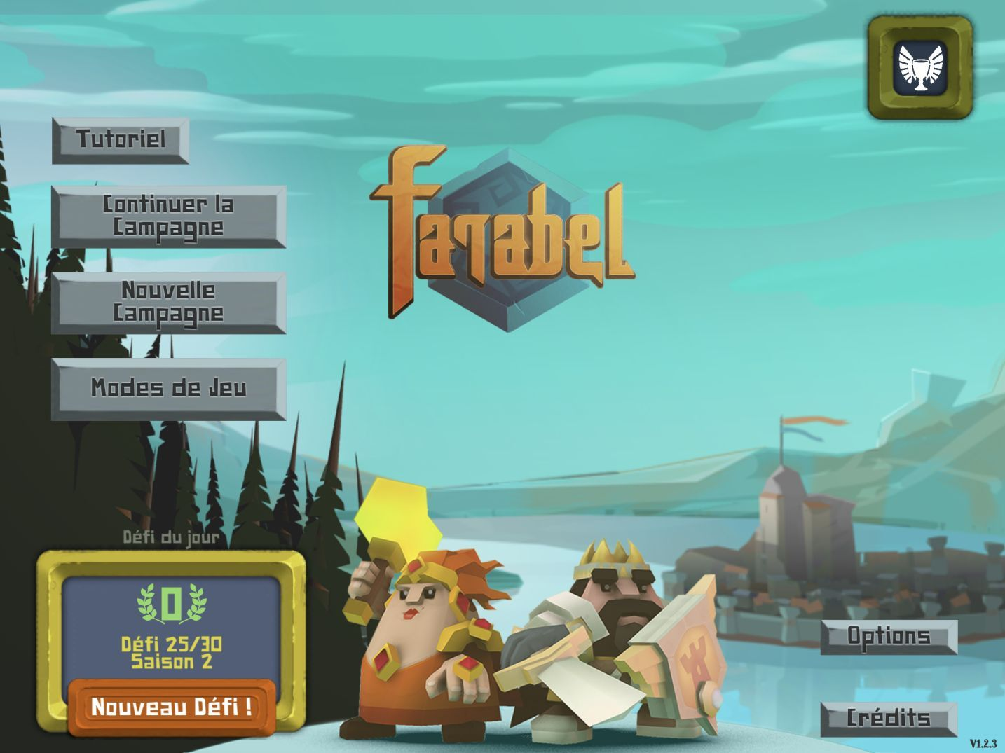 Farabel (copie d'écran 1 sur iPhone / iPad)