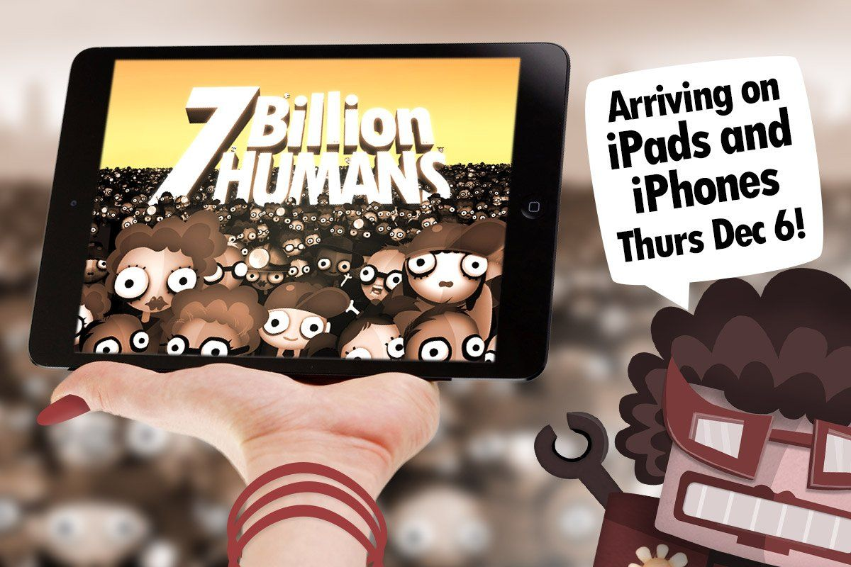 7 Billion Humans de Tomorrow Corporation
