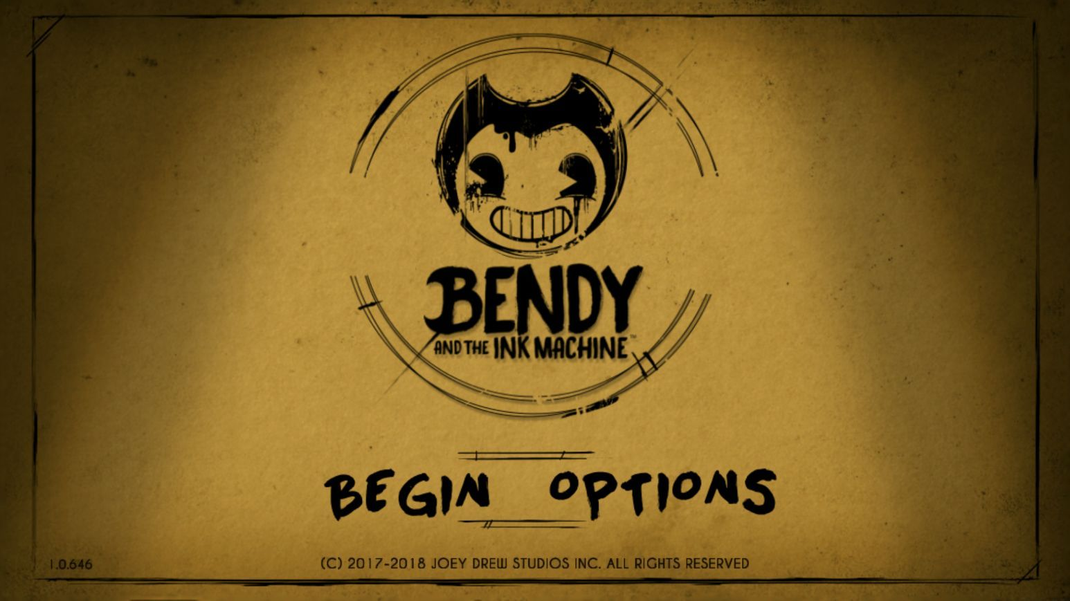 Bendy and the Ink Machine (copie d'écran 1 sur Android)