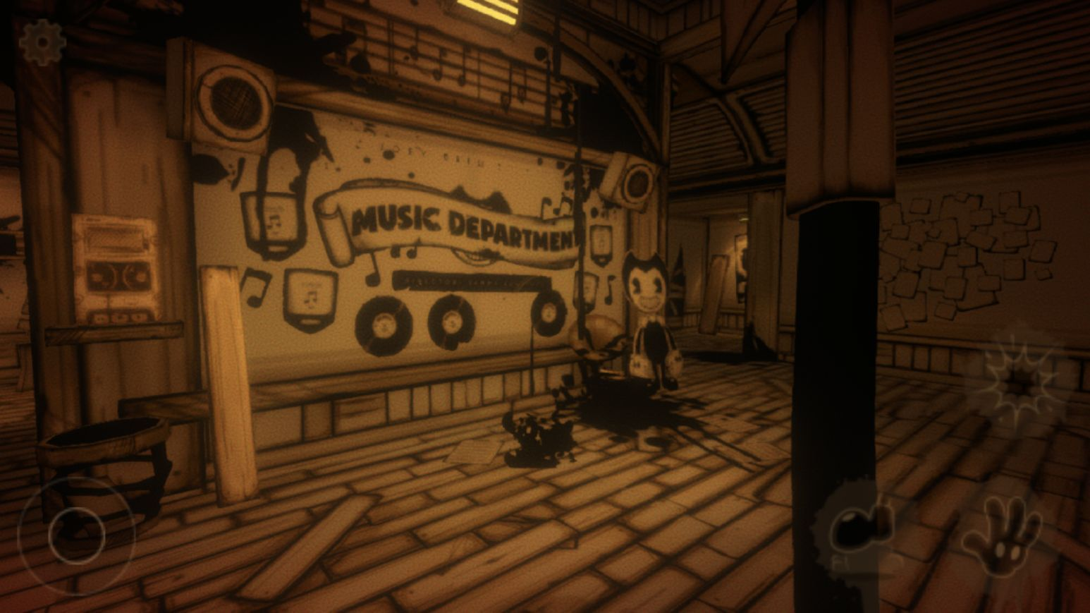 Bendy and the Ink Machine (copie d'écran 8 sur Android)