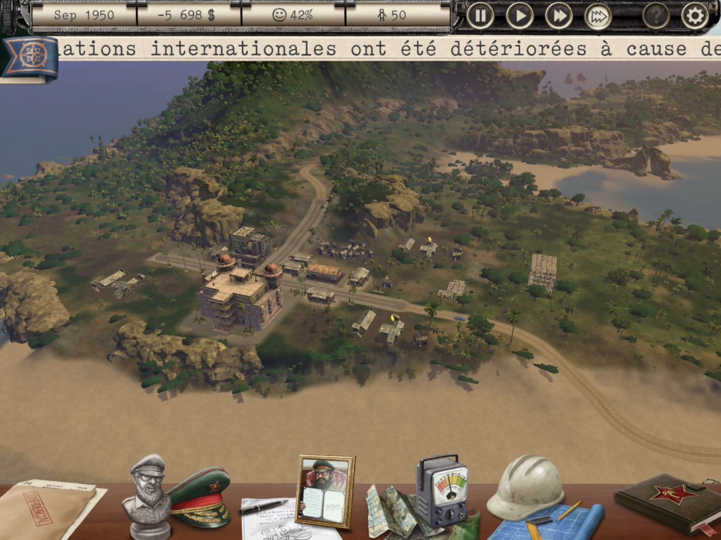 Tropico - test jeu iOS (iPhone / iPad) sur KickMyGeek com