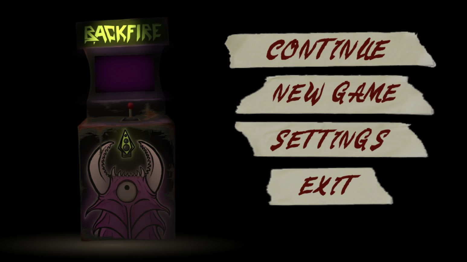 BACKFIRE (copie d'écran 1 sur iPhone / iPad)