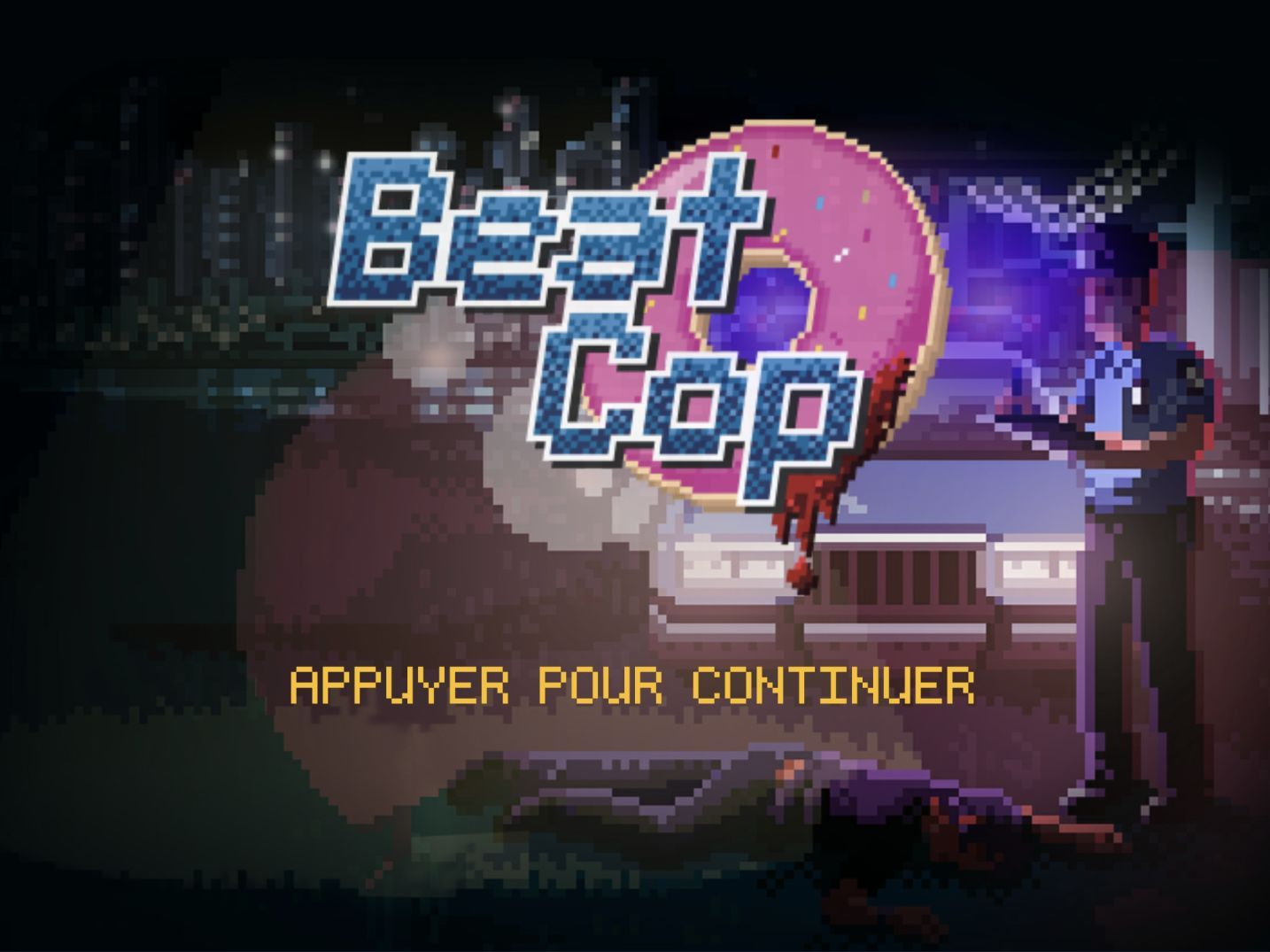 Beat Cop (copie d'écran 1 sur iPhone / iPad)