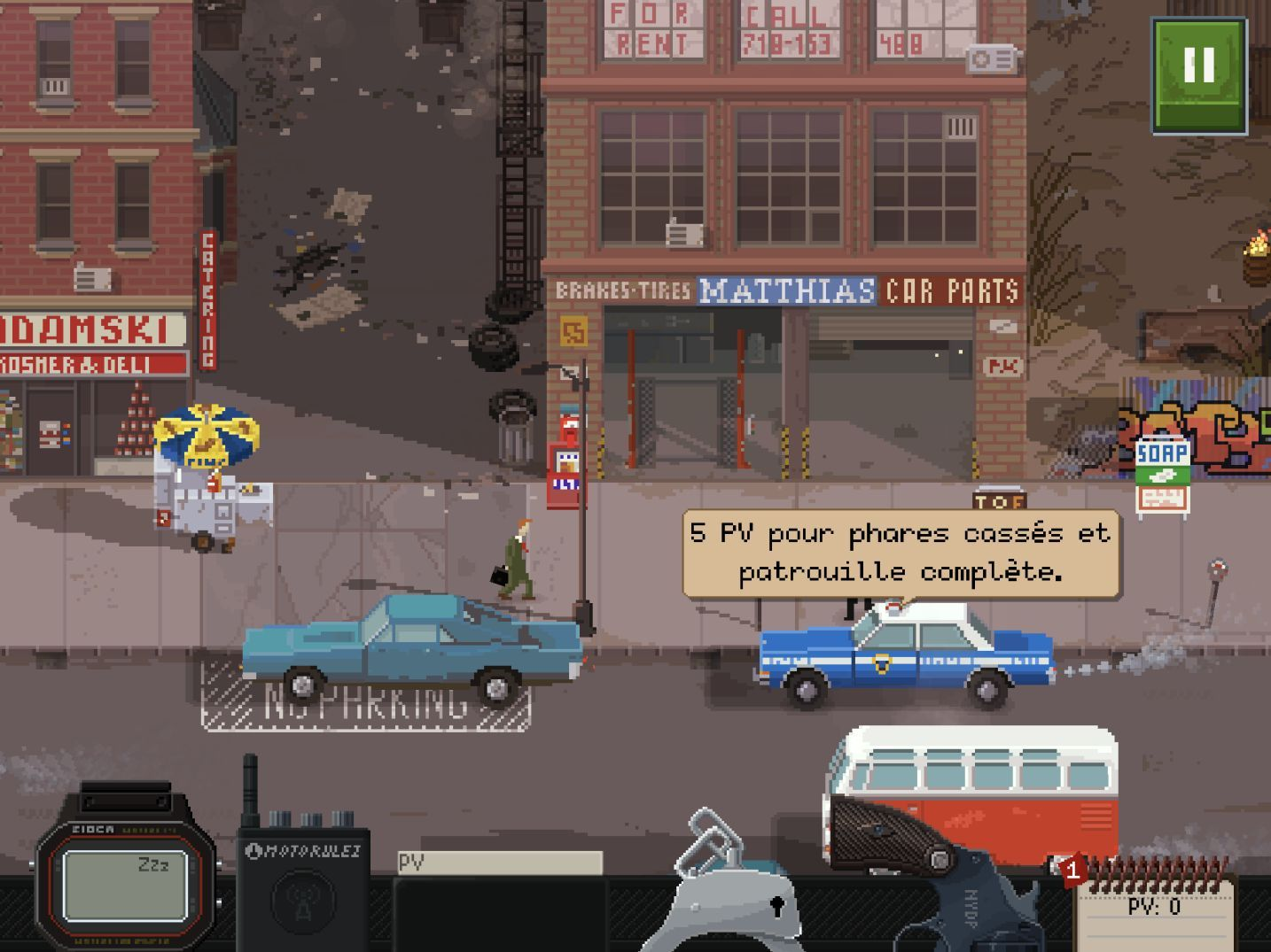 Beat Cop (copie d'écran 3 sur iPhone / iPad)