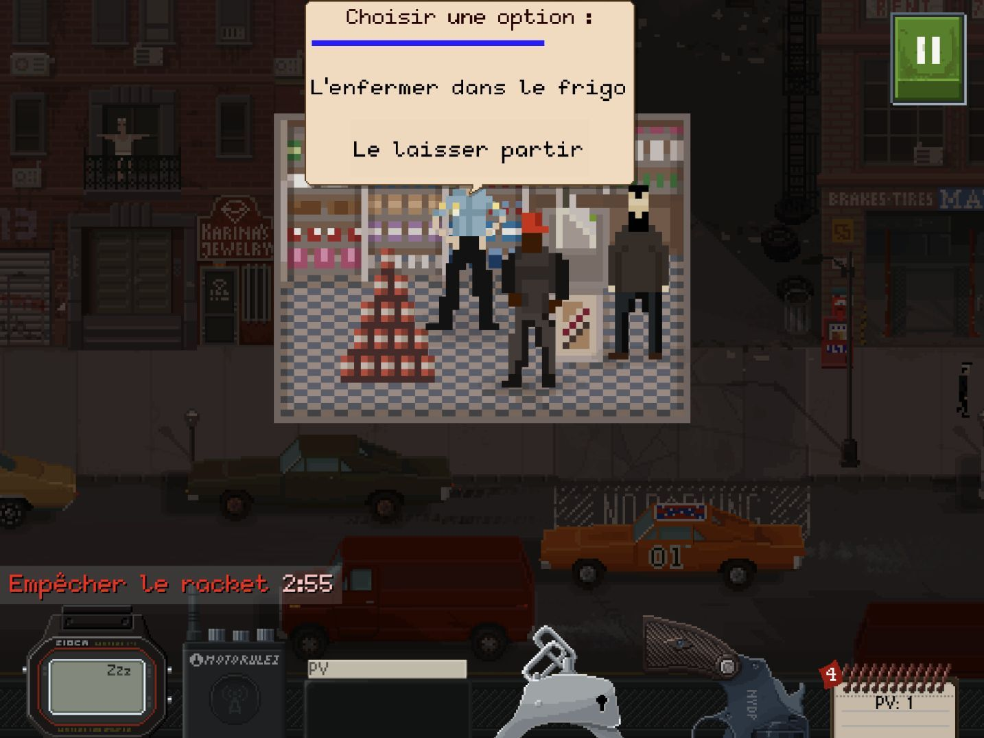 Beat Cop (copie d'écran 5 sur iPhone / iPad)