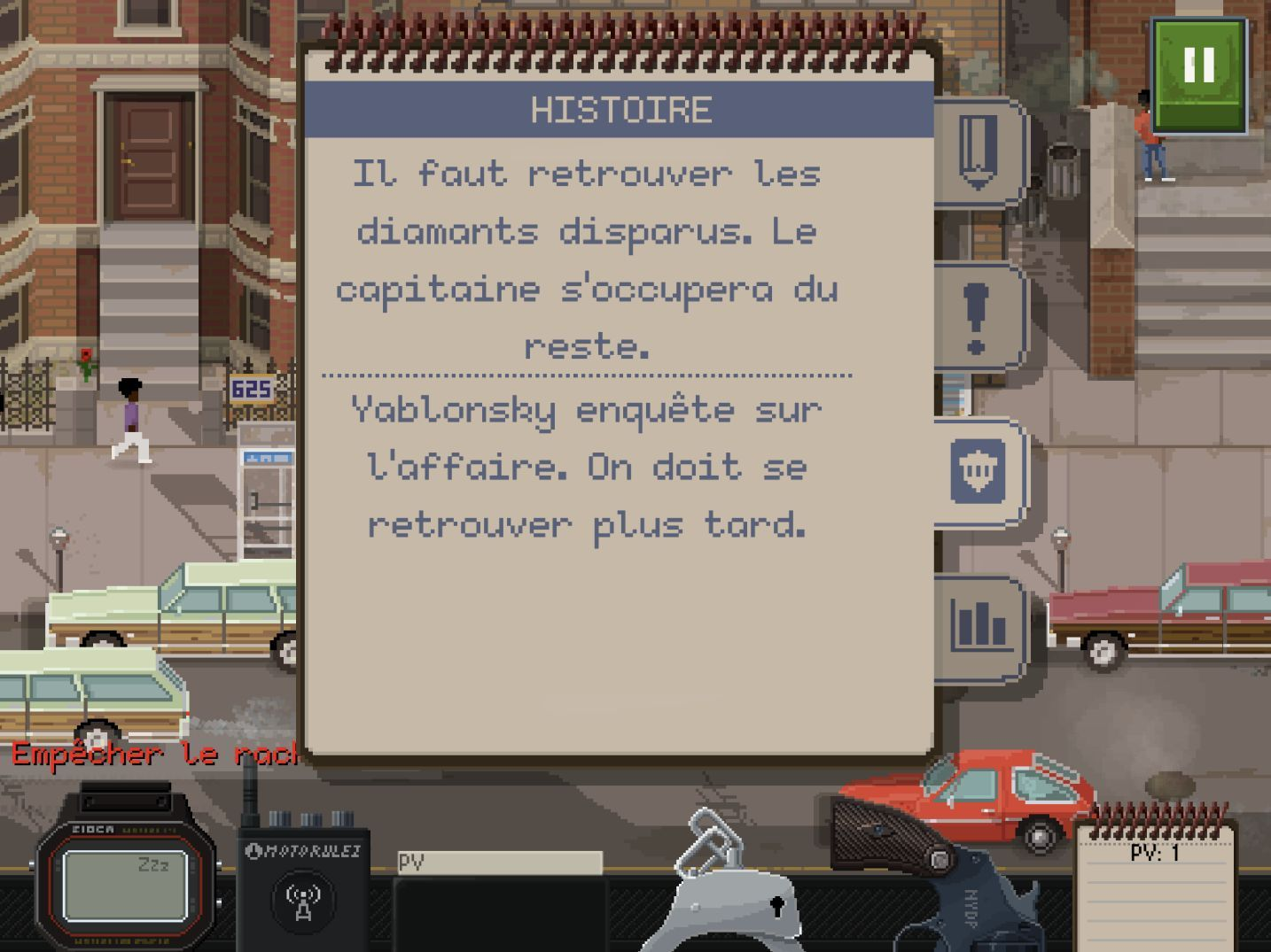 Beat Cop (copie d'écran 6 sur iPhone / iPad)