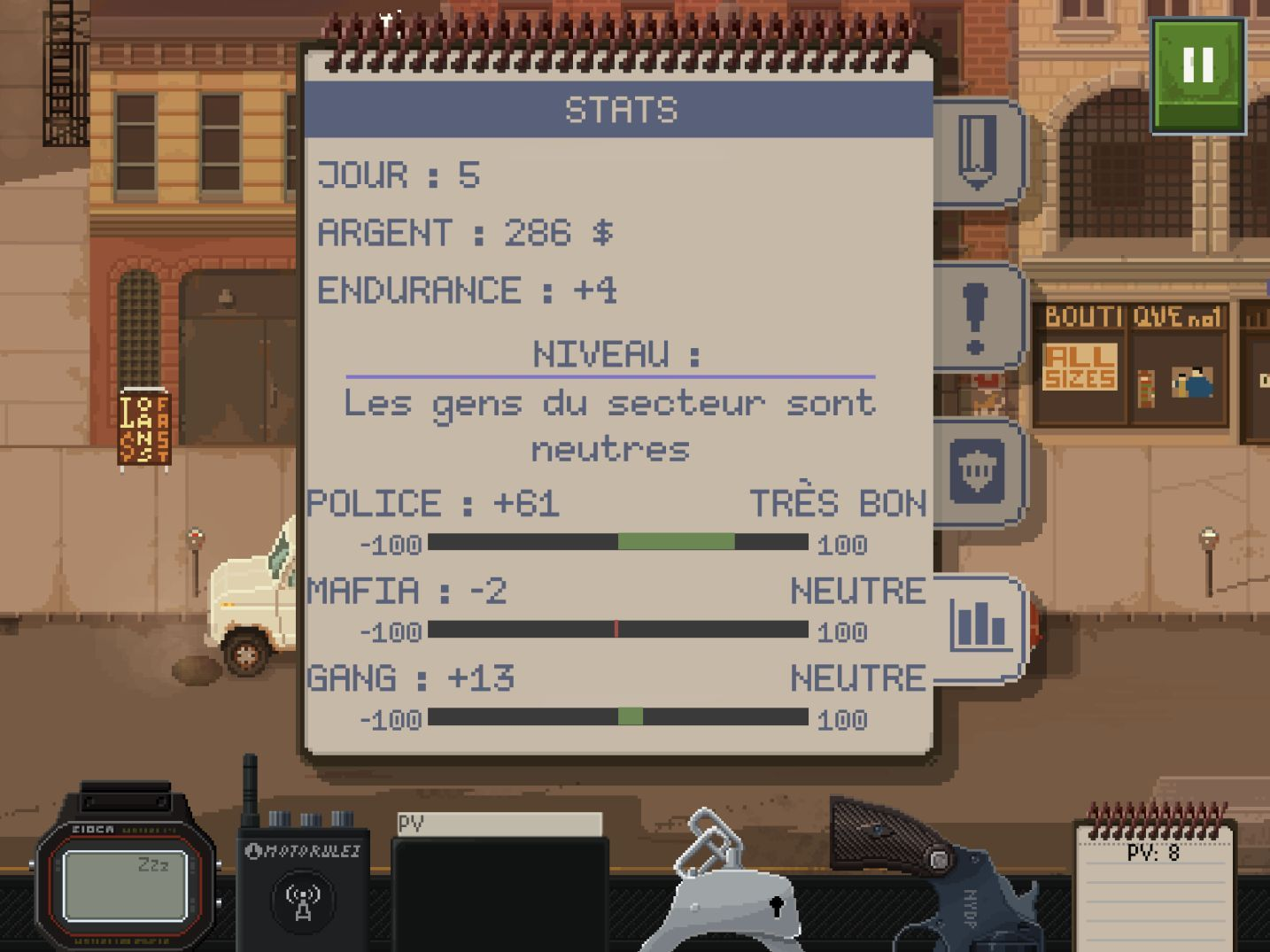 Beat Cop (copie d'écran 9 sur iPhone / iPad)