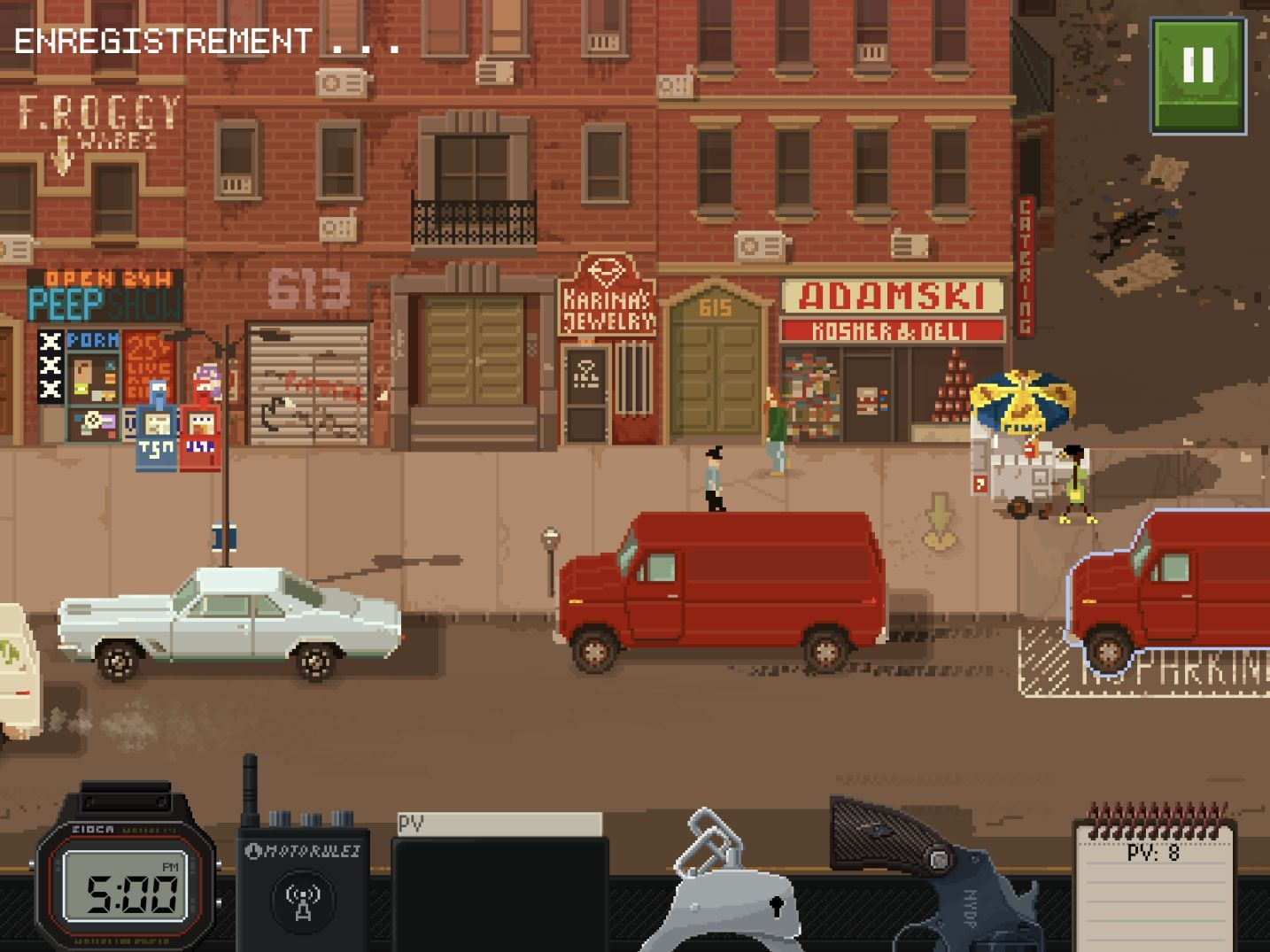Beat Cop (copie d'écran 11 sur iPhone / iPad)