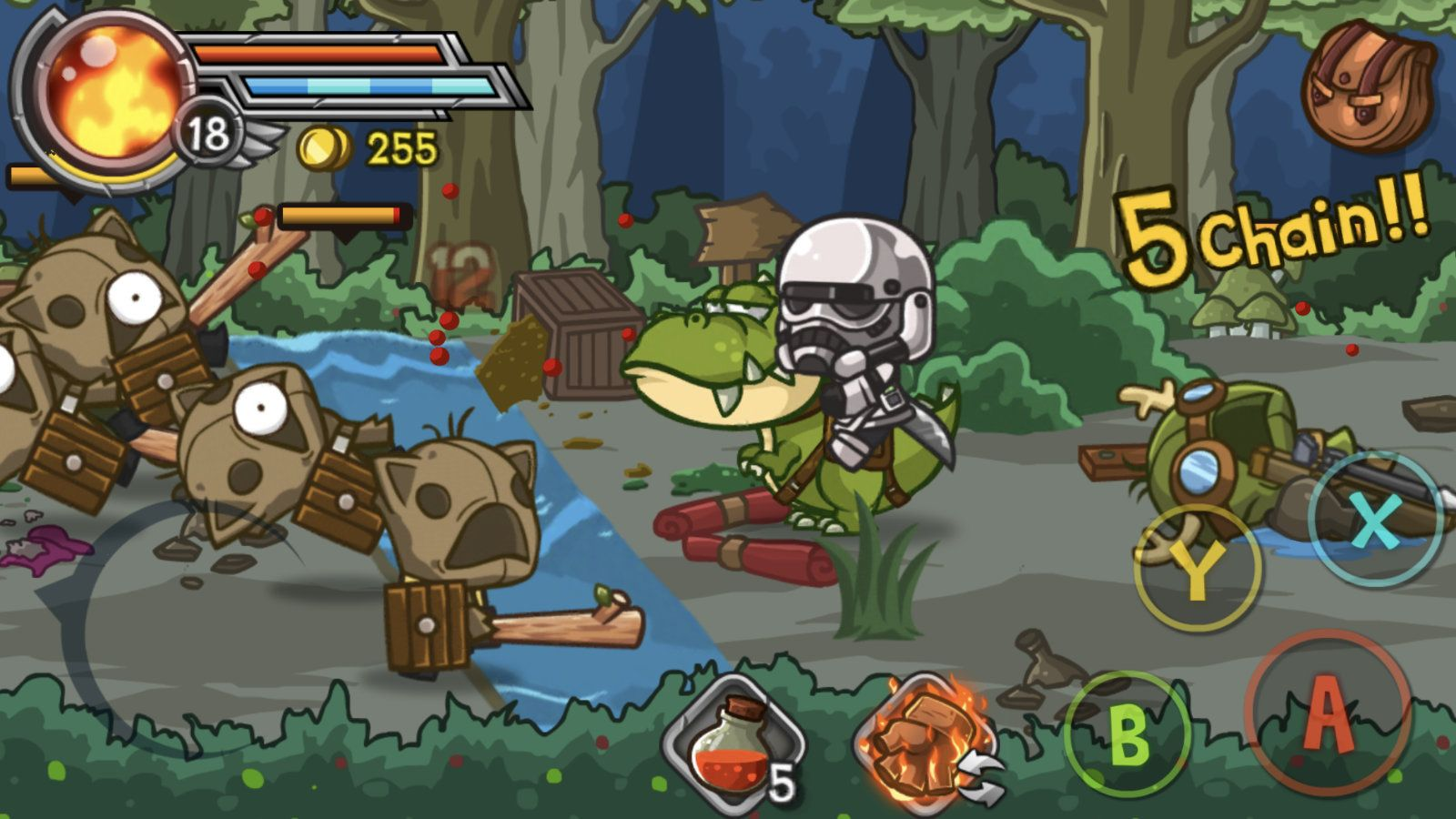 Wonder Blade (copie d'écran 9 sur Android)