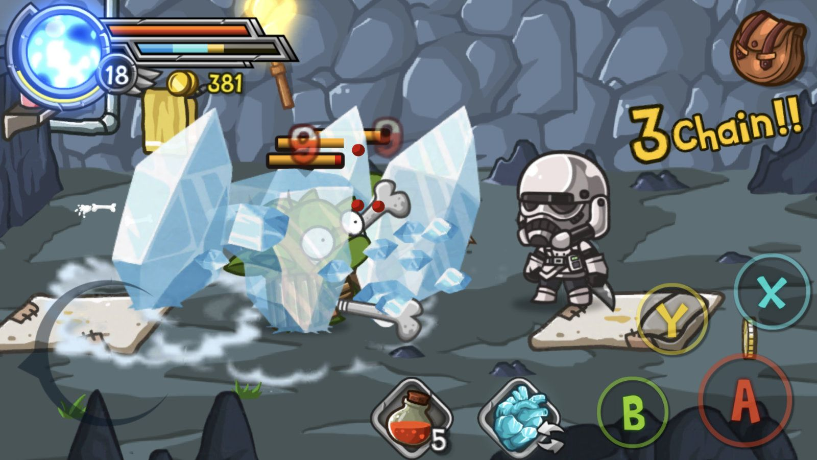 Wonder Blade (copie d'écran 12 sur Android)