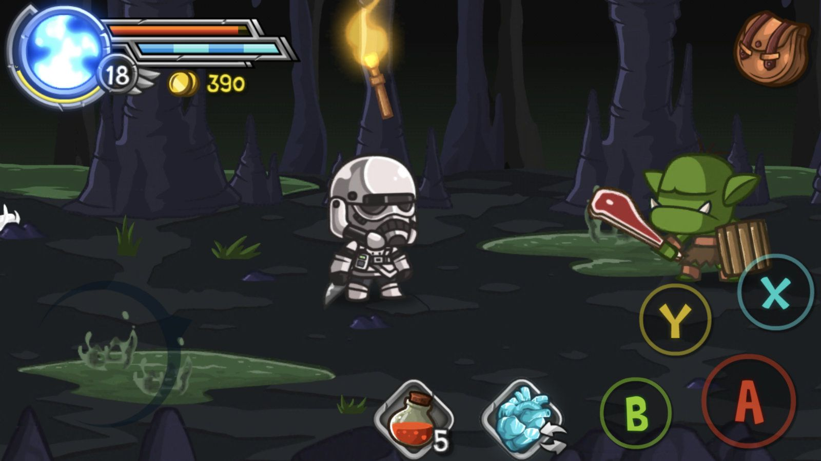 Wonder Blade (copie d'écran 14 sur Android)