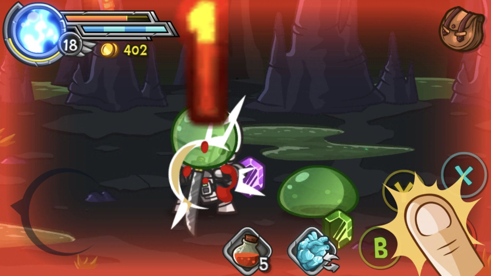 Wonder Blade (copie d'écran 13 sur Android)