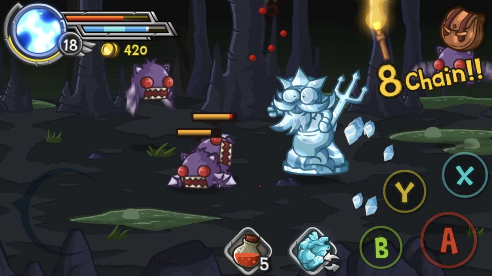 Wonder Blade (copie d'écran 15 sur Android)