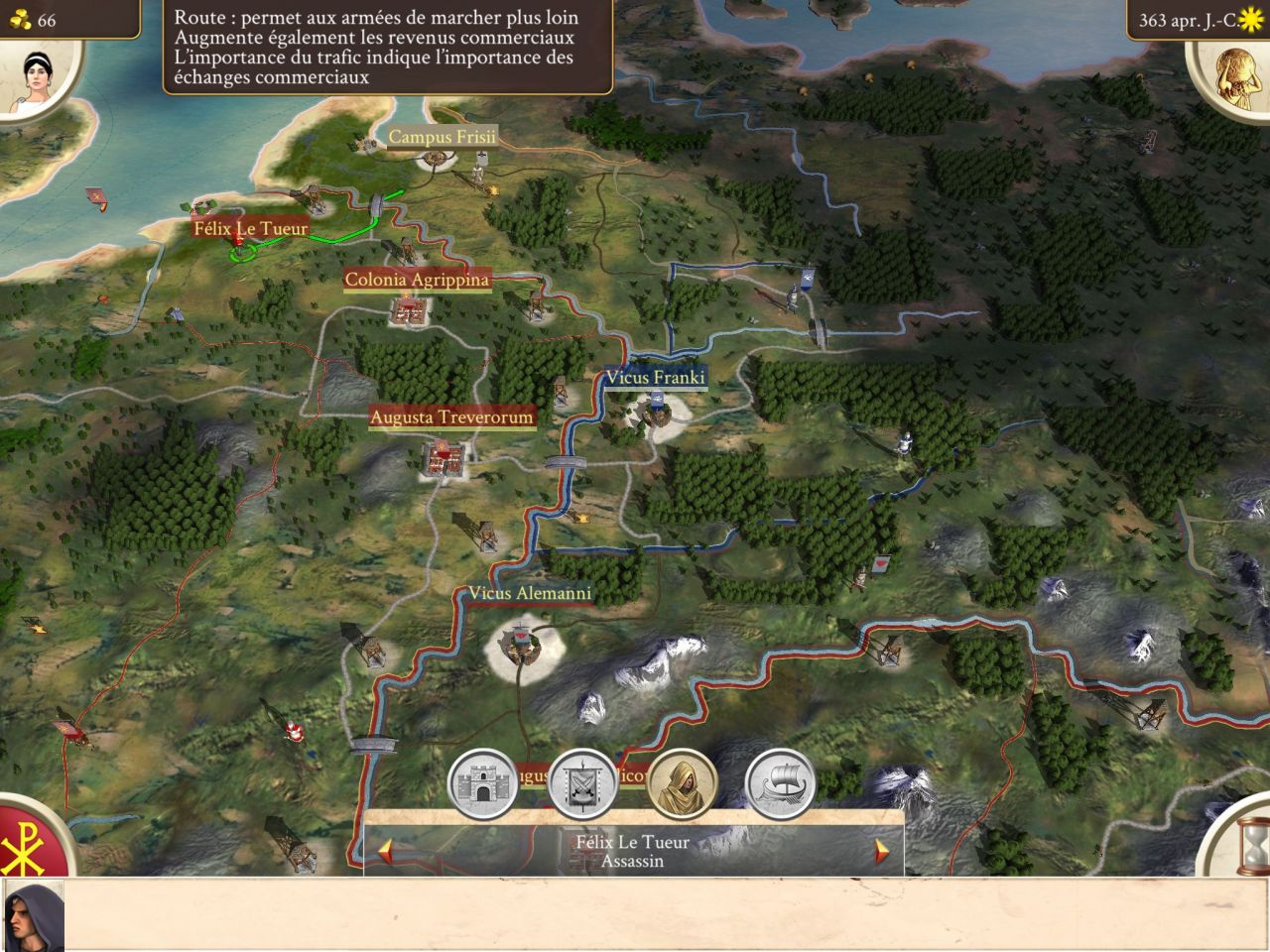 ROME: Total War - Barbarian Invasion (copie d'écran 7 sur Android)