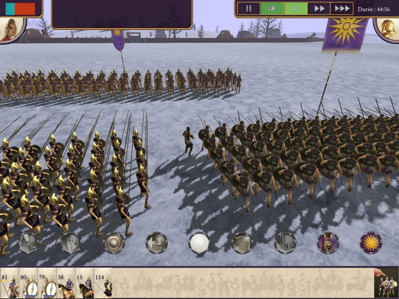 ROME: Total War - Alexander (copie d'écran 5 sur Android)