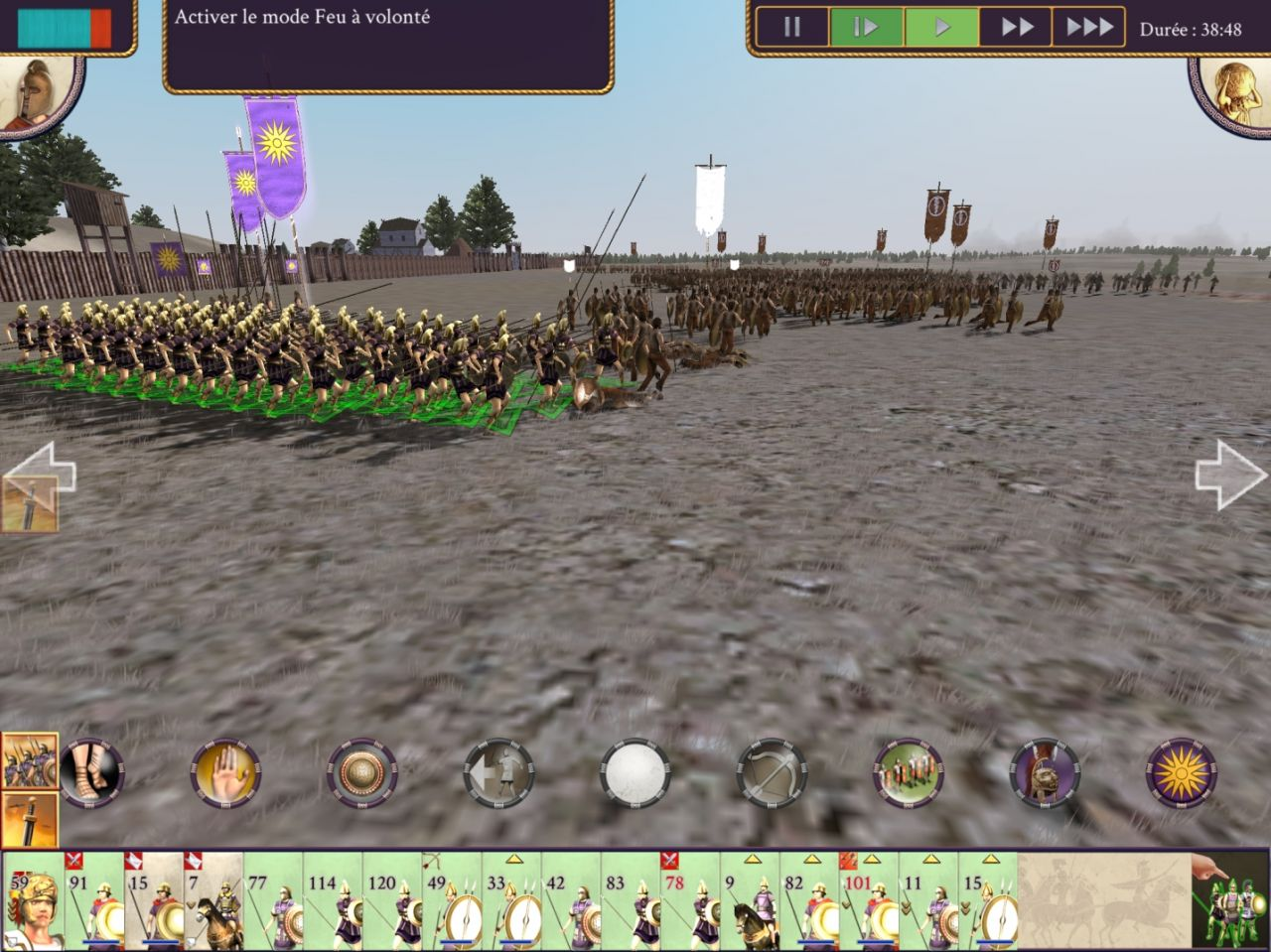 ROME: Total War - Alexander (copie d'écran 11 sur Android)