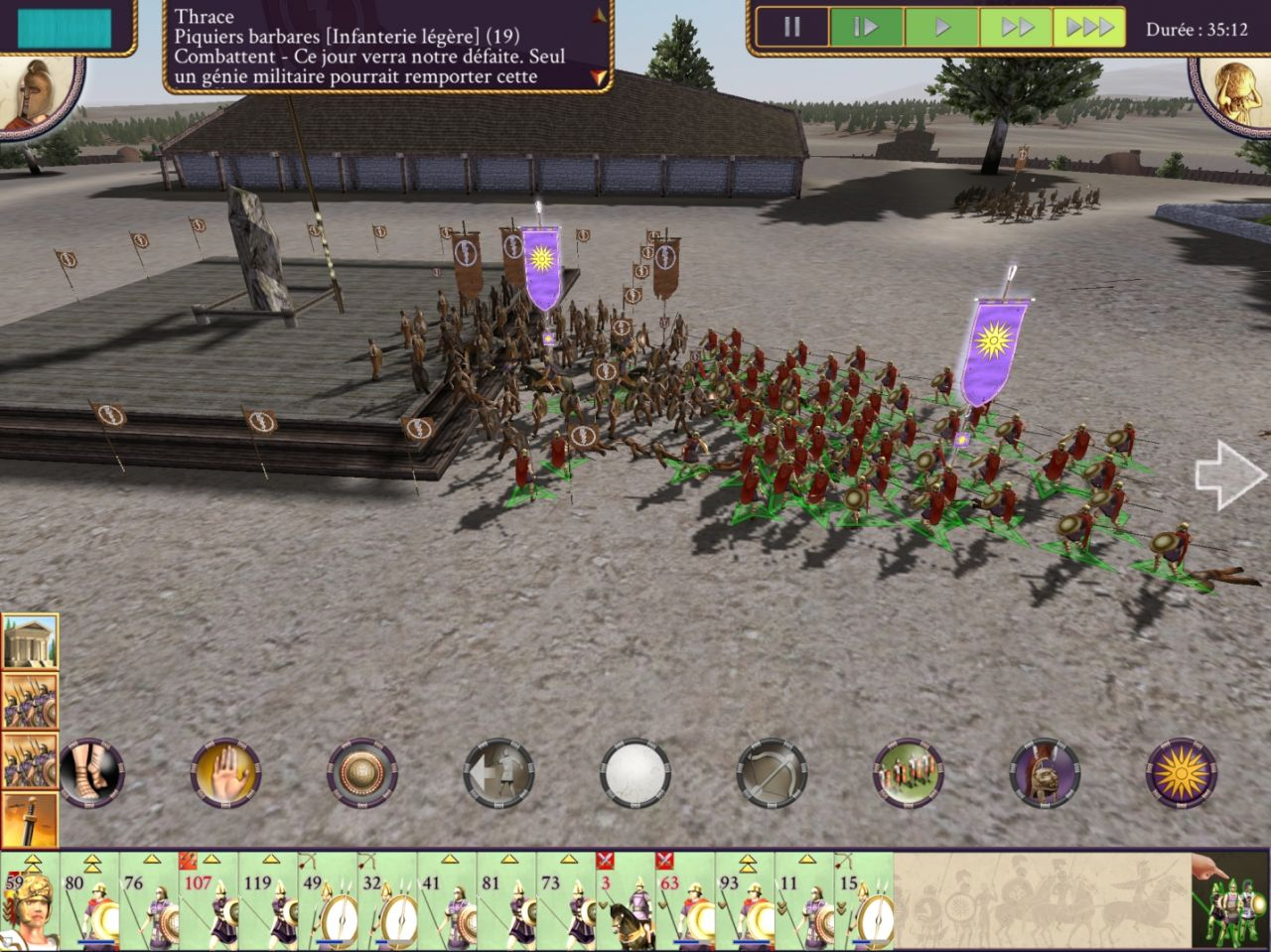 ROME: Total War - Alexander (copie d'écran 13 sur Android)
