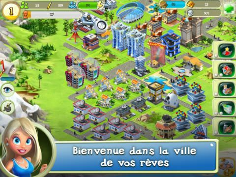 Tiny City sur iPhone, iPad et Android