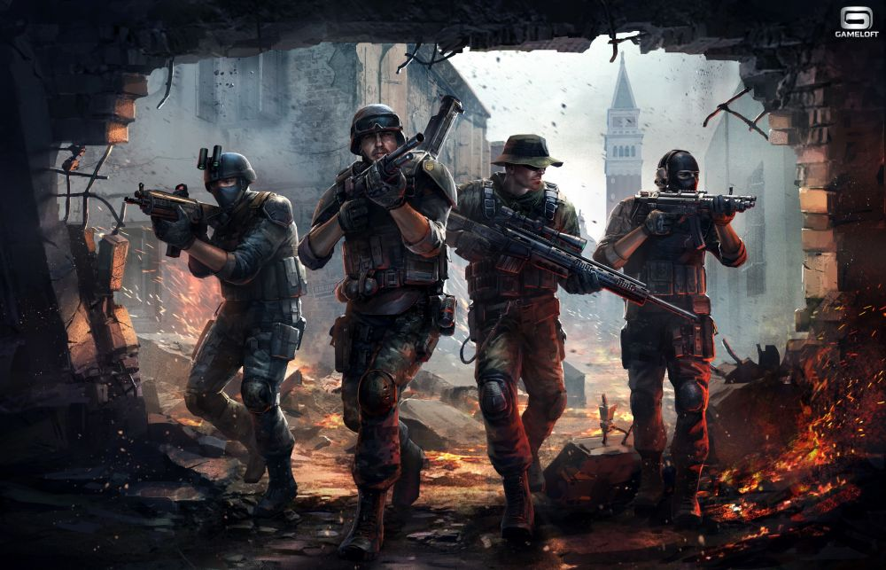 Modern Combat 5 : Black Out sur Android, iPhone et iPad