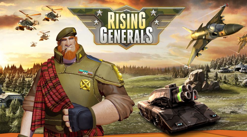 Rising Generals de InnoGames sur Android, iPhone et iPad